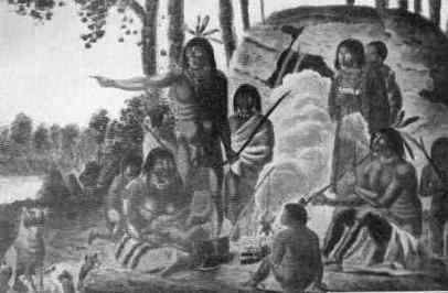 history of the algonquin indian tribe Original text the algonquian indians formerly were more widespread than any  other in north america the northern algonquians lived in the region of the.